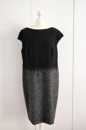 ESCADA Kleid aus Wolle, schwarz, Gr. 46 NP: 800 €!