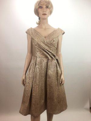 Escada Edition Vestido de cóctel color rosa dorado Seda