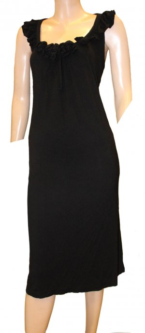 ESCADA Kleid Hängerchen schwarz Gr. 42/44