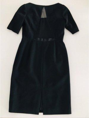 Escada Robe à manches courtes noir