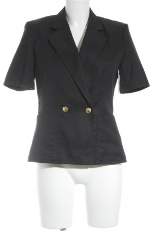 Escada Kurz-Blazer dunkelblau Business-Look