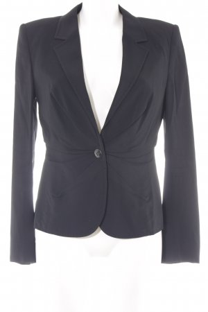 Escada Kurz-Blazer schwarz Business-Look