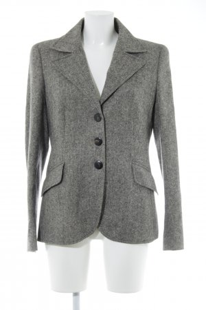 Escada Kurz-Blazer taupe-creme meliert Business-Look