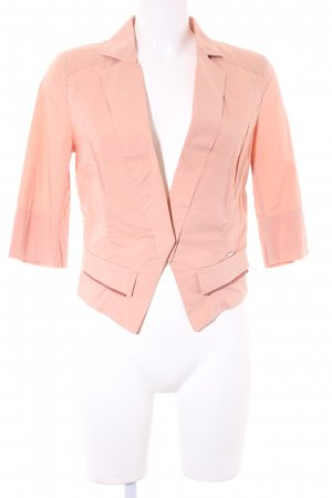 Escada Langarm-Bluse apricot Business-Look