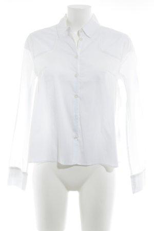 Escada Camisa de manga larga blanco elegante