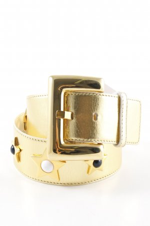 Escada Leather Belt multicolored extravagant style