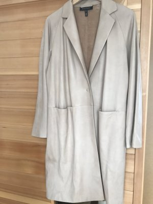 Escada Cappotto in pelle beige