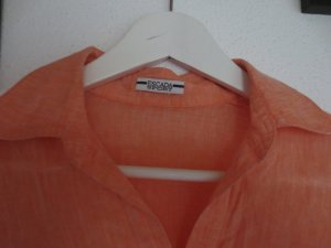 Escada Leinenbluse in Gr. S, orange, wie neu, 3/4 Arm