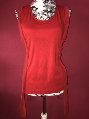 Escada locker geschnittenes rotes Top