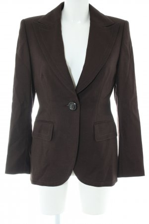 Escada Long-Blazer braun Business-Look