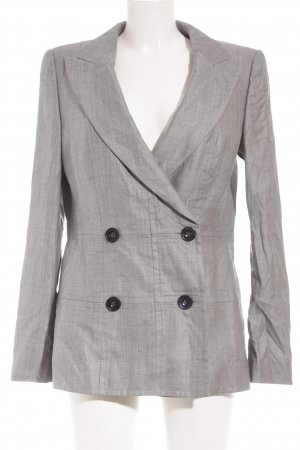 Escada Long-Blazer hellgrau-grau Business-Look