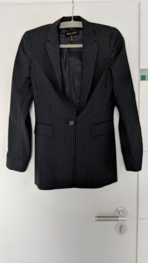 Escada Boyfriend Blazer black-sand brown cotton