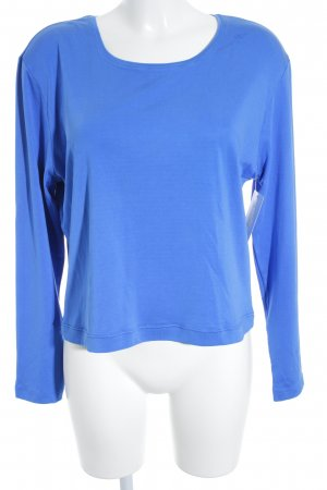Escada Longsleeve blau Casual-Look