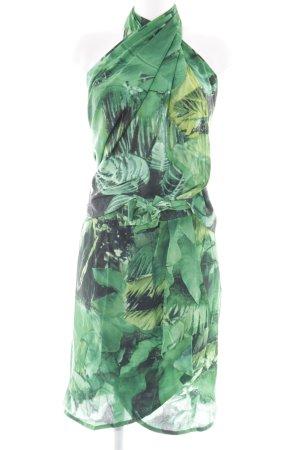 Escada Margaretha Ley Kostüm florales Muster extravaganter Stil