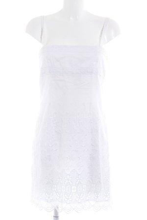 Escada Margaretha Ley Minikleid weiß Romantik-Look
