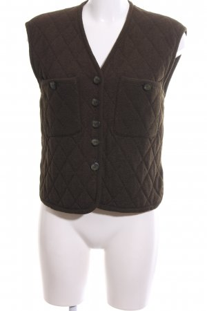 Escada Margaretha Ley Quilted Gilet bronze-colored quilting pattern casual look