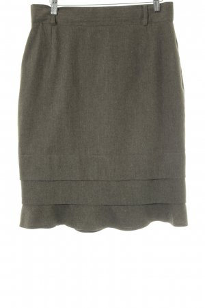 Escada Margaretha Ley Broomstick Skirt green grey casual look