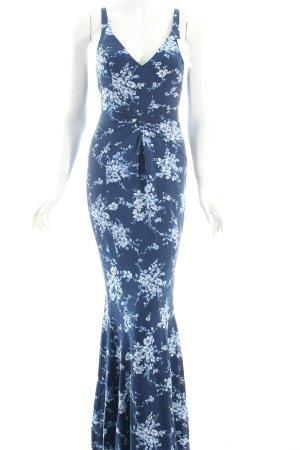 Escada Maxikleid florales Muster Eleganz-Look