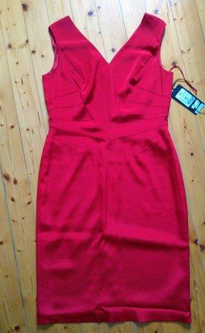 Escada Robe mi-longue rouge-rouge carmin