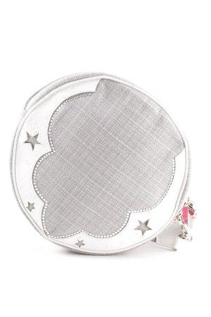 Escada Minitasche weiß-hellgrau Elegant