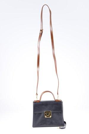 Escada Borsetta mini nero-marrone chiaro stile da moda di strada