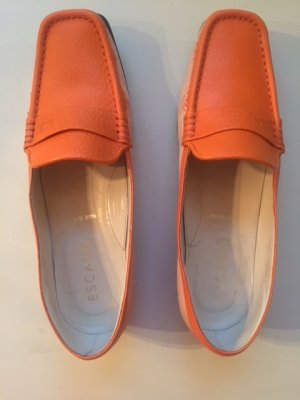 Escada Moccasins orange