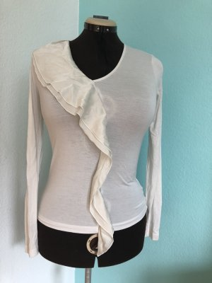 Escada Cowl-Neck Shirt cream
