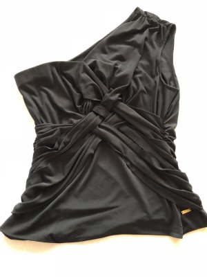 Escada One Shoulder Top, schwarz, Gr 40, Top Zustand
