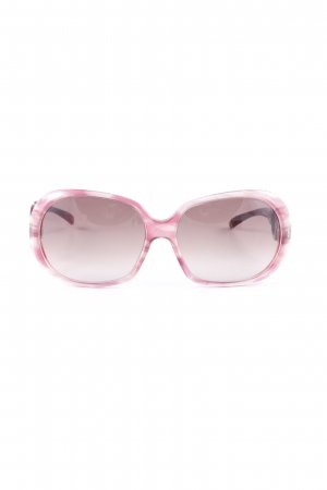 Escada ovale Sonnenbrille purpur-violett Beach-Look