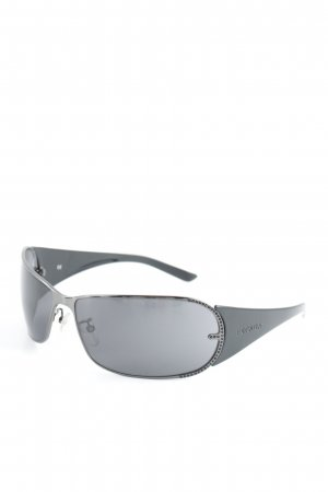 Escada Oval Sunglasses black-azure '90s style