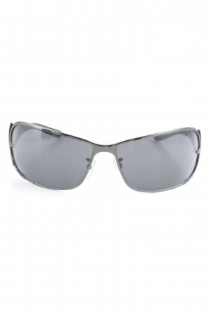 Escada Oval Sunglasses black-azure '90s style