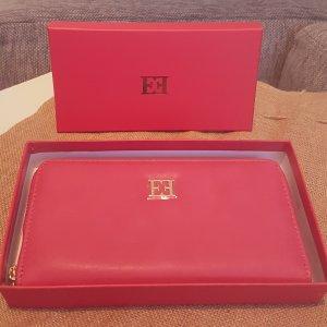 Escada pink/ gold Geldbörse, Portemonnaie, Geldbeutel mit Box, neu & originlaverpackt