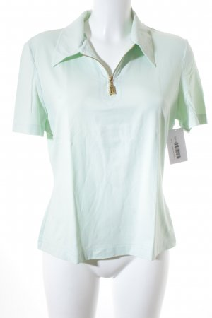 Escada Polo-Shirt hellgrün Casual-Look