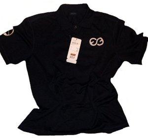 ESCADA POLO - SHIRT kurzarm schwarz Gr. 44 / 46