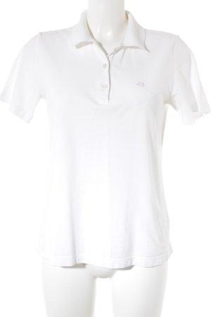 Escada Polo-Shirt weiß Casual-Look
