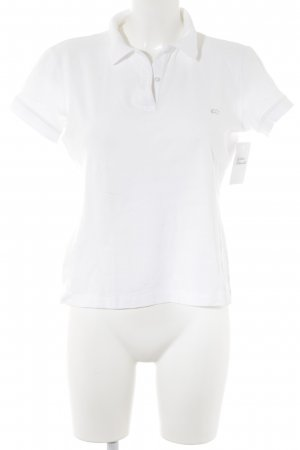 Escada Polo-Shirt weiß Casual-Look