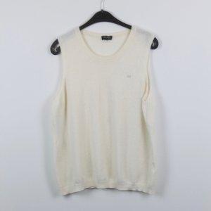 Escada Sport Cardigan en maille fine blanc cassé-crème