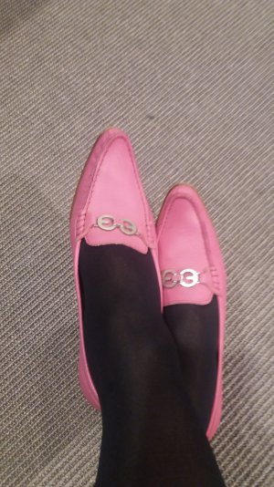Escada pumps in pink butterweiches leder sehr bequem