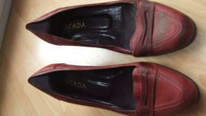 Escada Pumps Schuhe rot Gr 40