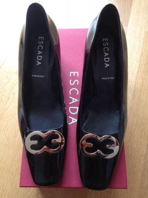 Escada Pumps schwarz lack