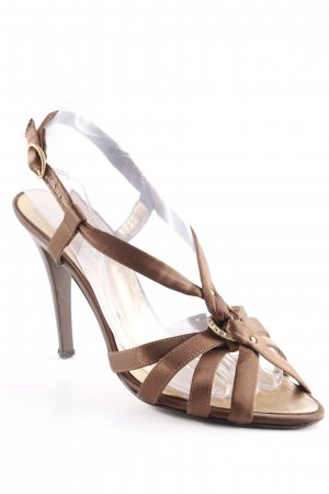 Escada Strapped pumps brown elegant
