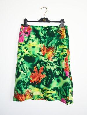 Escada Silk Skirt multicolored silk