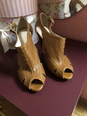 Escada High Heel Sandal light brown