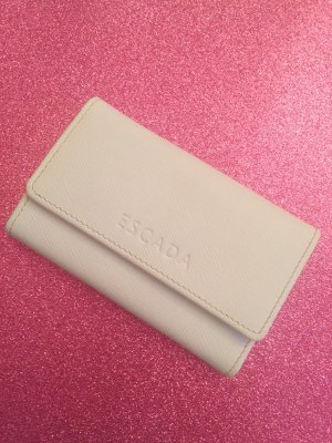 Escada Key Chain white-gold-colored