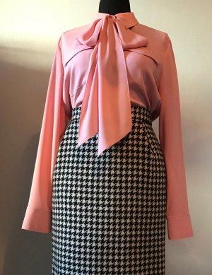 Escada Blusa collo a cravatta rosa Acetato