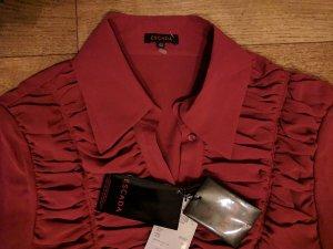Escada Blusa in seta rosso mattone Seta