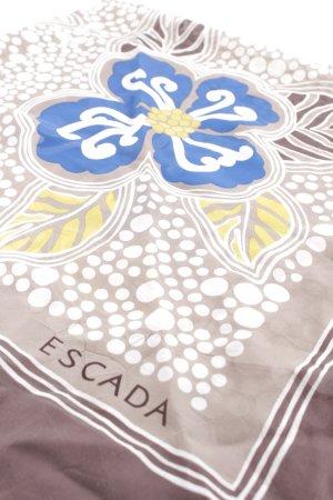 Escada Bufanda de seda estampado floral look casual
