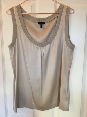 Escada Top in seta oro Seta