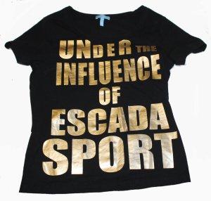 ESCADA Shirt schwarz Gr. 38/40