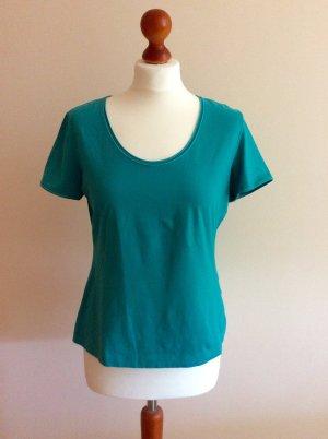 Escada Shirt, Smaragdgrün, Gr. 40